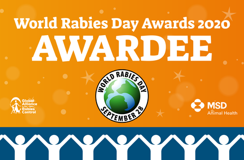 World Rabies Day 2020 Awardees.