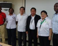 Members of World Animal Protection meet with officials from the Philippines Department of Agriculture.