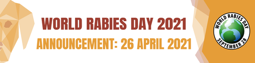 World Rabies Day 2021 theme announcement
